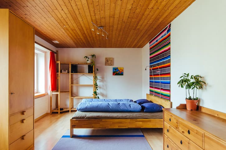 Big Room for two (or 3 or 4) - Hombrechtikon - Huis
