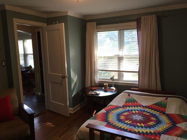 Cozy, private room in Prairie Village - Prairie Village - Casa
