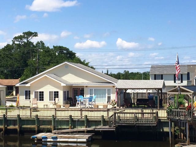 Waterfront Retreat - Little Egg Harbor Township - Casa