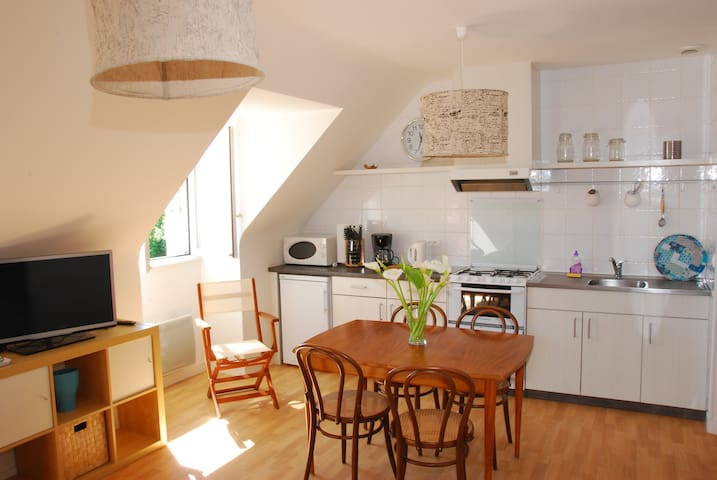 Appartement proche de la thalasso - WIFI - Roscoff - Leilighet