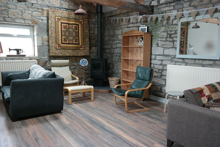 4 bed room in Cyclist/Walker Friendly Farm B&B - Widdrington
