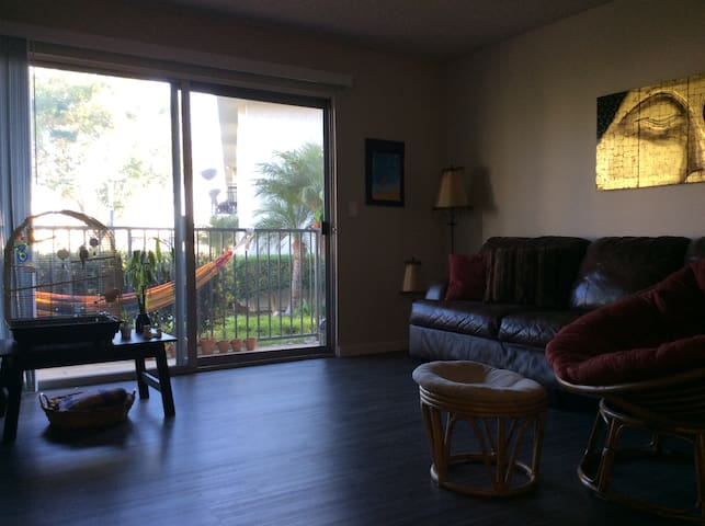 Private Room in Apartment w Community Pool & Gym - Oceanside - Lejlighed
