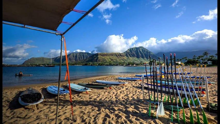 Oceanview 4 Bedroom Close to Beach - Waianae - Loft