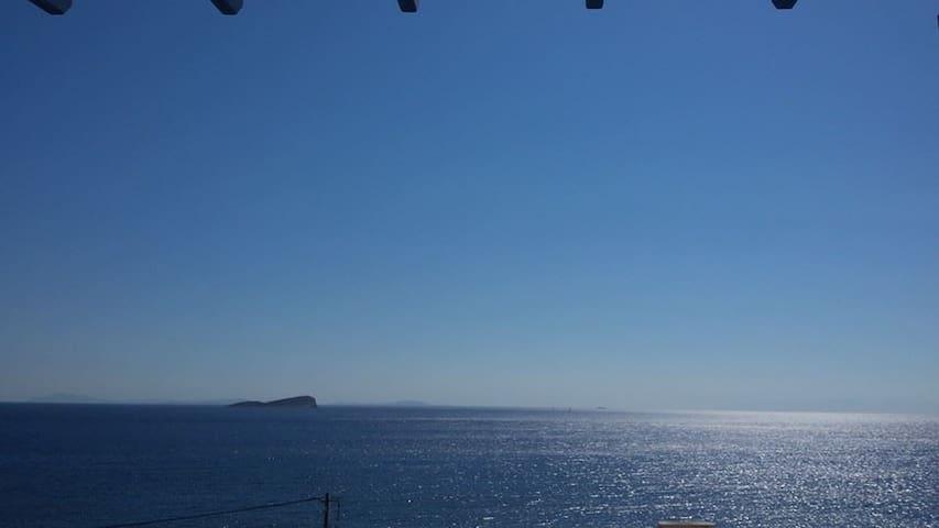 ENDLESS BLUE from Syros (1st house) - Syros - Ev
