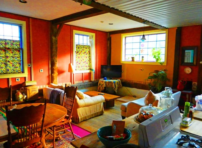 Uniquely Spacious Fun & Quiet house size APARTMENT - Royalton - Lägenhet