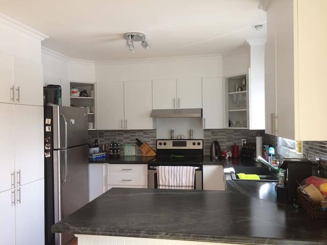 Cosy Home for rent near Downtown Montreal - Longueuil - Casa