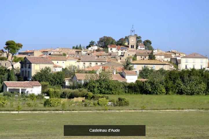 Double room in house with garden - Castelnau-d'Aude - Hus