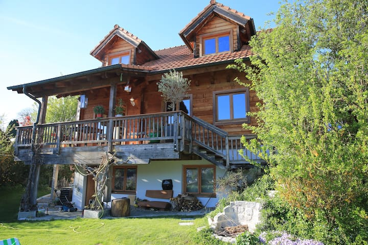 Blockhouse with 3, max 4 bedrooms - Therwil - Hus