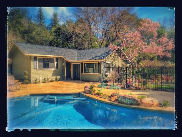 Luxurious Getaway in the Santa Cruz Mountains - Ben Lomond - Rumah