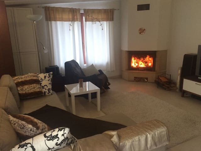 Apartment with wellness near Prague - Doksy - Daire