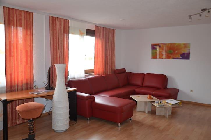Große Ferienwohnung, nur 12 km zum Europa-Park - Forchheim - Appartement