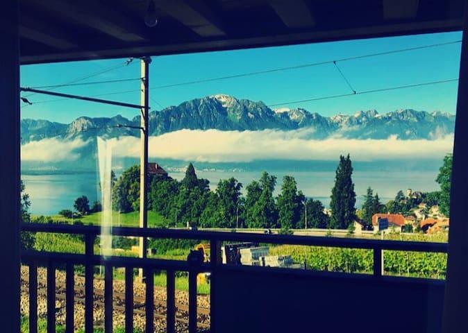 Beautiful Duplex - Montreux - Montreux - Dom