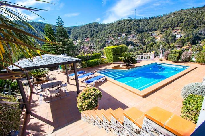 Beautiful mountain villa Torrelles - Torrelles de Llobregat - Maison