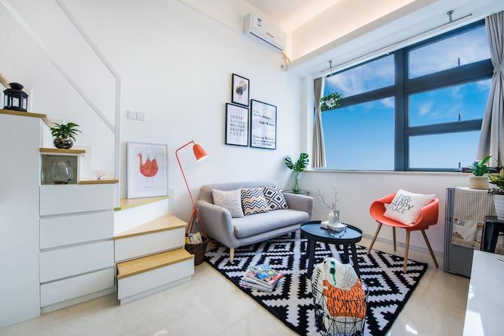 厦门-Amoy假日 2号短租民宿公寓 BRT沿线复式 - Xiamen