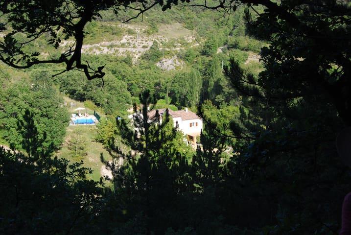 une oasis de nature et de  calme - Beaufort-sur-Gervanne - Apartamento