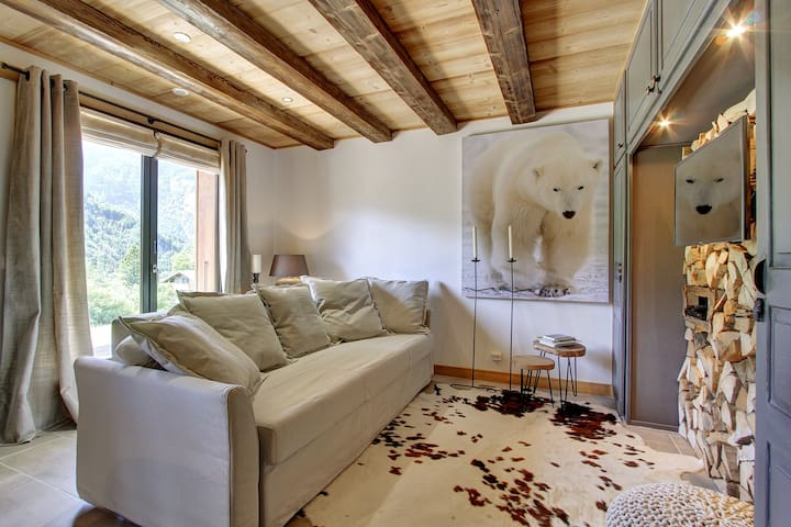"Comfortabel luxe appartement ""L'Ours Blanc Lodge"" - Le Biot - Appartement"