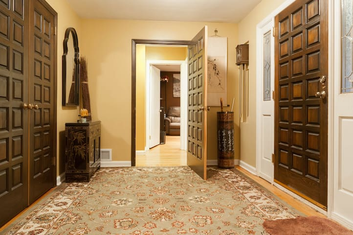 Lovely private room w/attached bath - Closter - House