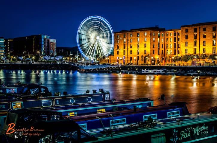 L1 City Centre Ropewalks Flat - Liverpool - Apartemen
