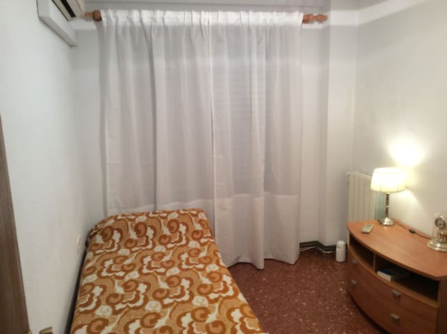 VALENCIA private room. Single. Fast WiFi. Big Park - MISLATA - Departamento