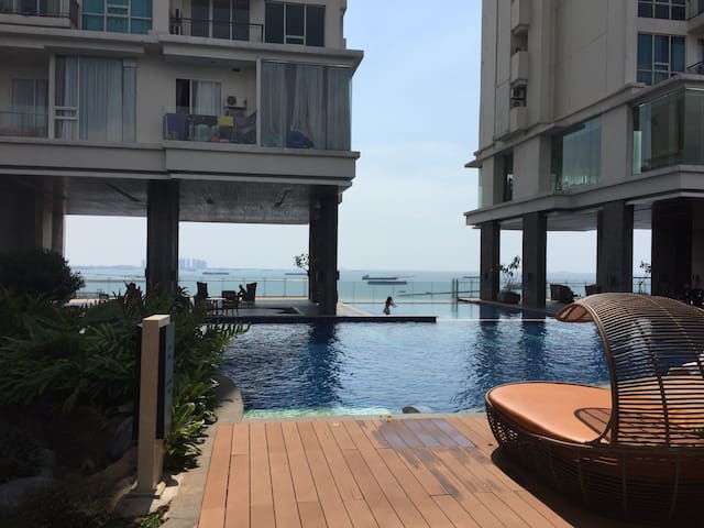 EXTENDED PROMO Seaside 1BR Apartment in Ancol. - Pademangan - Lägenhet