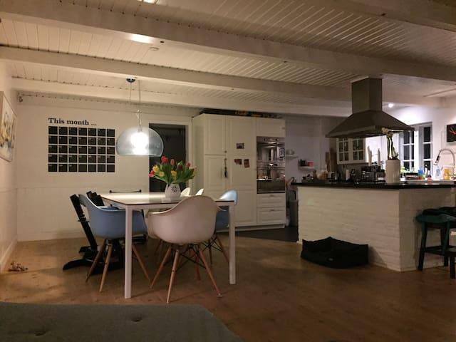 Hyggelig ejendom midt i naturen på skøn grund. - Odense - Maison