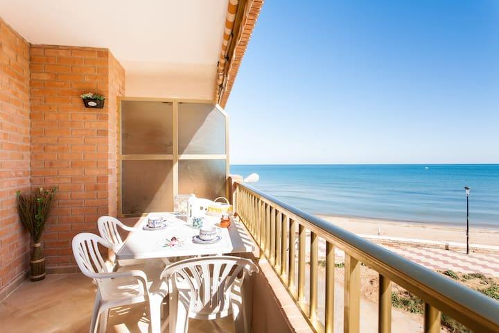 RELAJACIÓN en 1ª linea playa & WIFI - Sueca - Byt