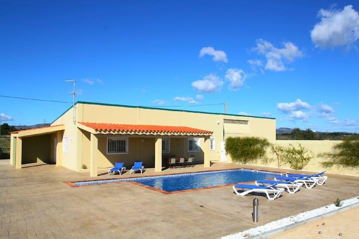 Casa de campo piscina, 10min playa - El Lligallo del Gànguil - Casa