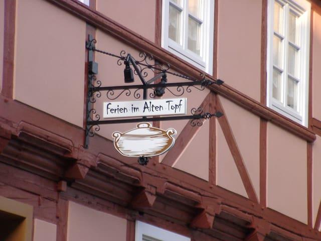 Ferien im AltenTopf - Quedlinburg - Leilighet