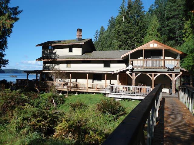 Emerald Cove Lodge (En-Suite 3 Ocean View) - Whaletown - Huis