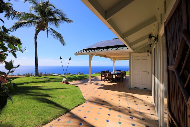 Private master suite with pool and ocean views - Waimea - Talo