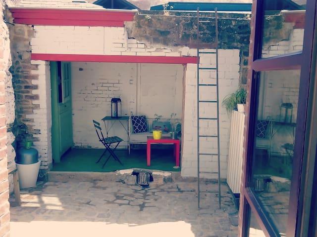 Maison atypique plein centre ville de Vitré! - Vitré - Hus
