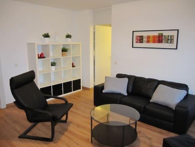 Möblierte 2.5 Zimmer Wohnung, zentral gelegen - Obersiggenthal - Departamento