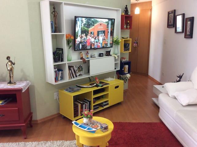 Apartamento pequeno, aconchegante, central - Paranaguá - Lägenhet