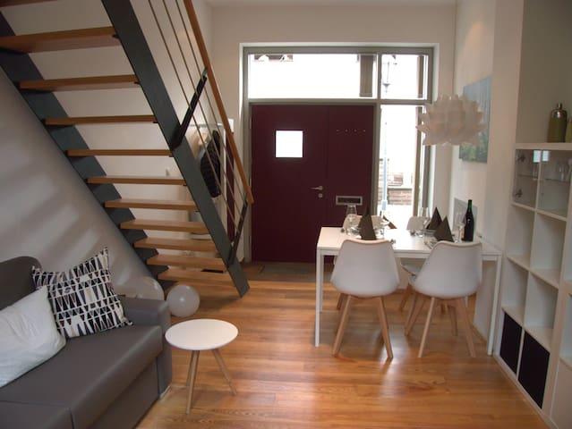 Sonniges Apartment in der Altstadt von Höxter - Höxter - Lägenhet