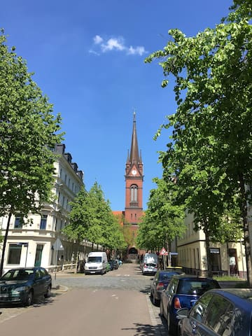 Modern Apt close to City Centre - Leipzig - Huoneisto