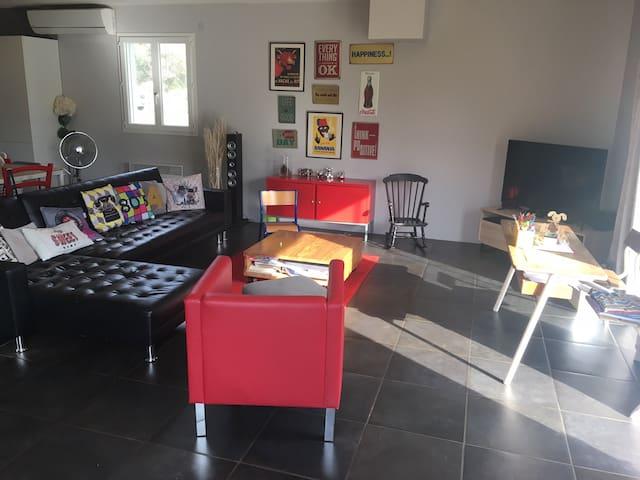 Villa 4 places proche Ajaccio... 15mn des plages.. - Afa - Casa