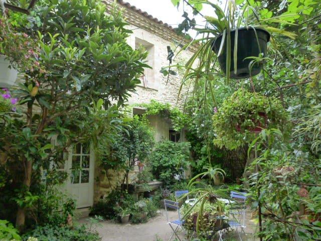 chambre dans la maison d'une artiste - Aubais - Casa