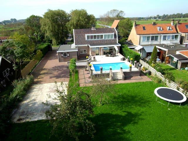 Luxury room near Amsterdam - Westzaan - 別荘