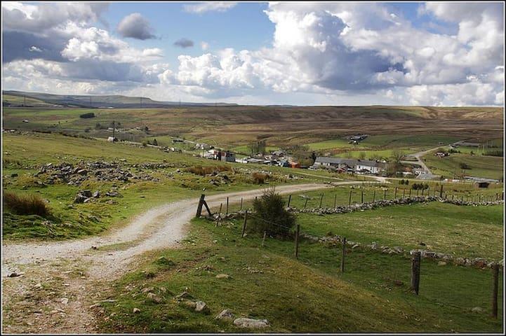 Wales' Highest Village - Trefil, Nr Tredegar - Trefil