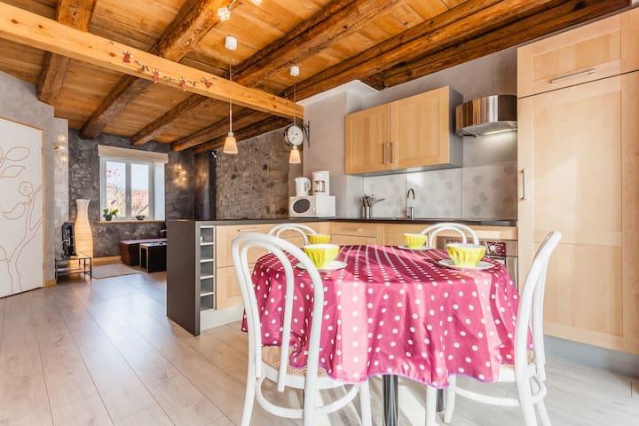 Charme et modernité en Alsace ! - Muhlbach-sur-Bruche - Lägenhet
