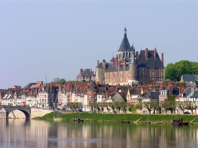 Grand studio bords de Loire - Gien - Lägenhet