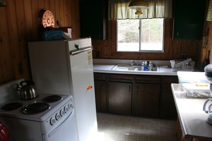 1 bedroom cabin - Escanaba - 통나무집