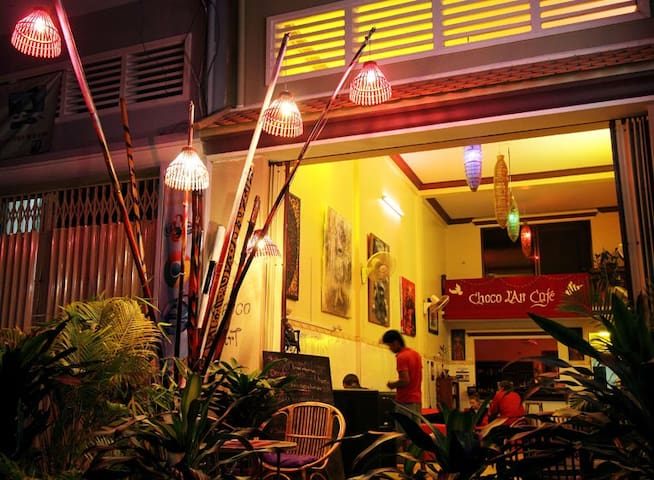 Room at Choco L'Art Cafe - Krong Battambang - Muu