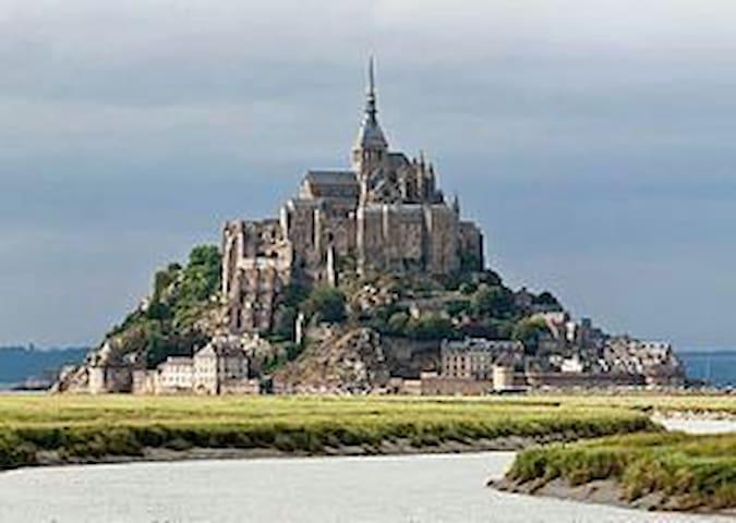 Maison proche du Mont Saint Michel - Roz-sur-Couesnon - Huis
