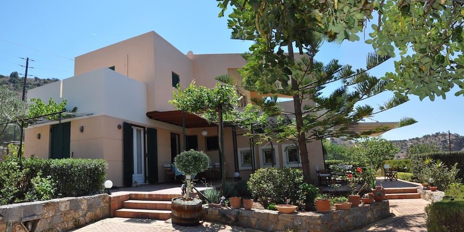 Familyfriendly villa into the trees - Malia - Villa