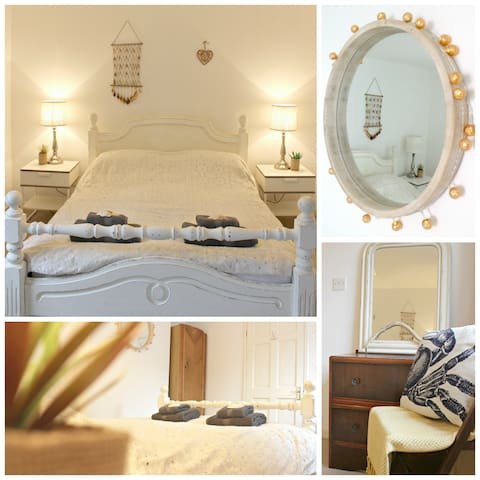 The Fal Flat, walking distance to beaches & town. - Falmouth - Service appartement