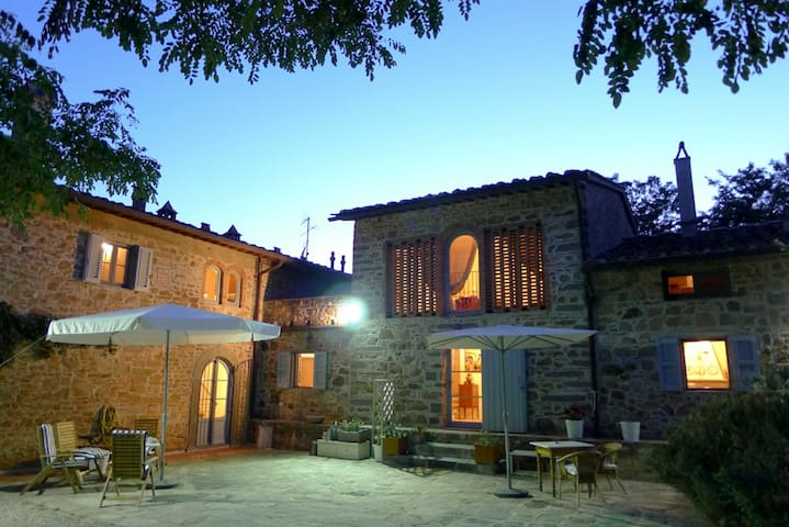 Country House in Tuscany Barn     - Castra - Casa