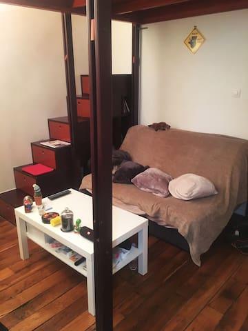 Petit appartement situé à deux pas du Louvre - Paris - Daire