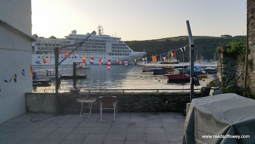 Waterside apartment in the center of Fowey. - Fowey - Appartement