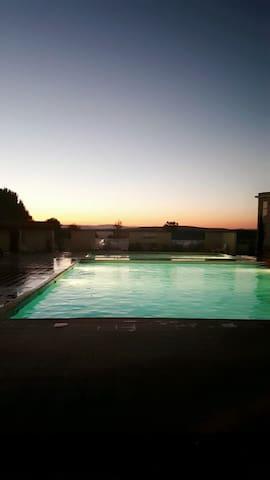 Plain pied / terrain / 3 piscines - Saint Georges d'orques  - Apartamento